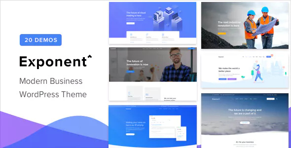 Exponent v1.0.4 - Modern Multi-Purpose Business Theme