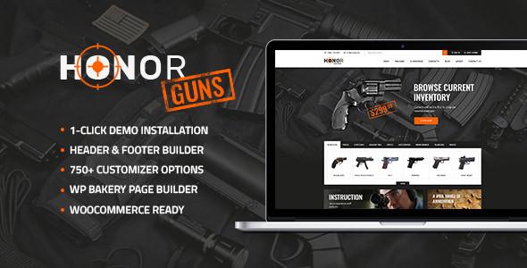 Honor v1.1 - Shooting Club & Weapon Store Theme