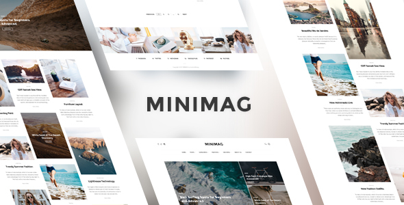 MiniMag v1.3.2 - Magazine and Blog WordPress Theme