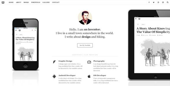 Readme v1.4.3 - A Readable WordPress Theme