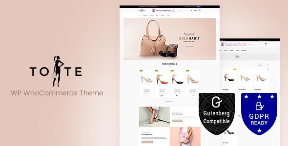 Tote v1.3 - WordPress WooCommerce Theme