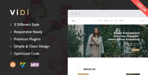 ViDi v1.1.2 - Multi-Purpose Corporate WordPress Theme