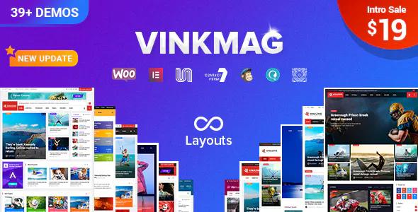 Vinkmag v1.3 - Multi-concept Creative Newspaper