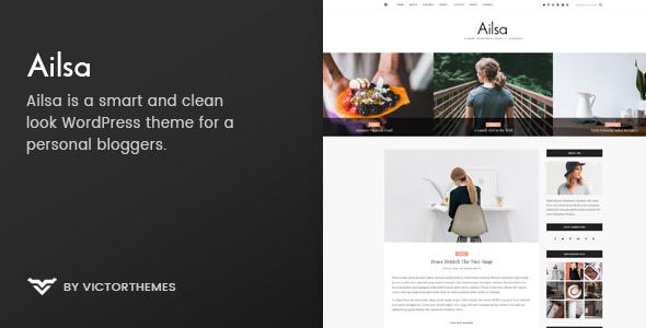 Ailsa v1.3 - Personal Blog WordPress Theme