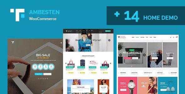 Ambesten v1.4 - Multipurpose MarketPlace - RTL WooCommerce