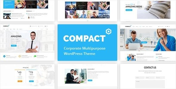 Compact v1.3.0 - Corporate Multipurpose WordPress Theme
