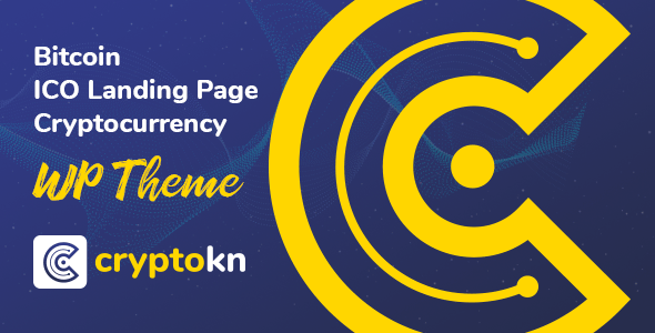Cryptokn v1.1.1 - ICO Landing Page & Cryptocurrency Theme