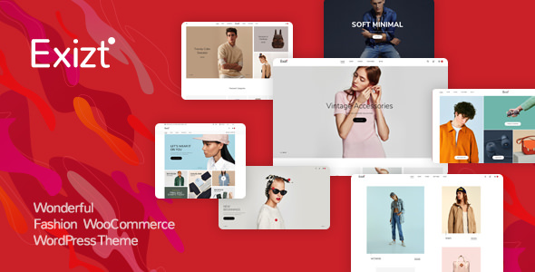 Exizt v1.0.12 - Fashion WooCommerce WordPress Theme
