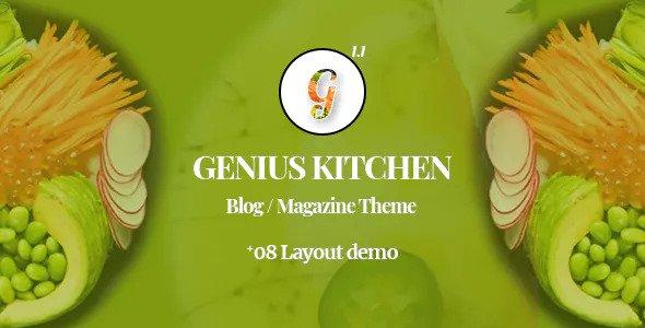 Genius Kitchen v1.1 - Restaurant News Magazine and Blog Food