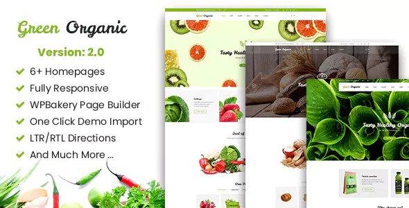 Green Organic v2.5 - Organic Store & Bakery Theme