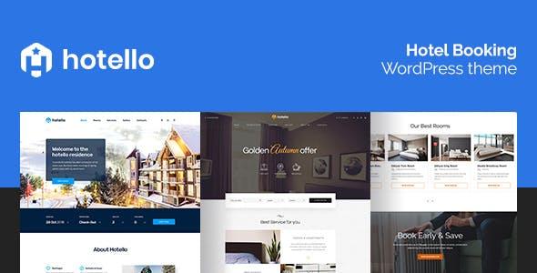 Hotello v1.2.5 - Hotel Booking WordPress theme