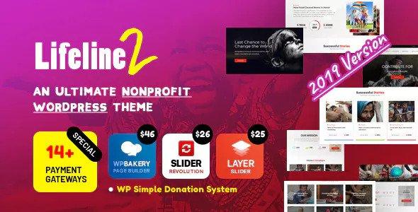 Lifeline 2 v3.4.7 - An Ultimate Nonprofit WordPress Theme