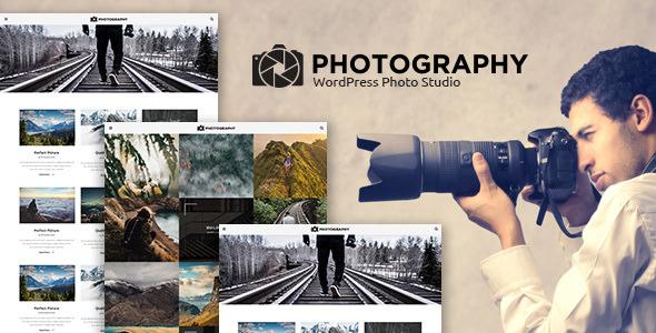 MT Photography v1.2.1 - Eye-catching, Unique Photo Theme