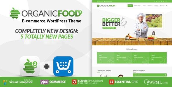 Organic Food v1.2 - Farm & Food Business Eco WordPress Theme