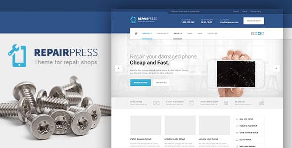 RepairPress v1.4.2 - GSM, Phone Repair Shop WP