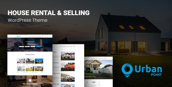 UrbanPoint v1.3.1 - House Selling & Rental Theme