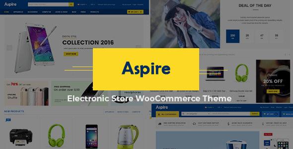 Aspire v3.7 - Electronic Store WooCommerce WordPress Theme