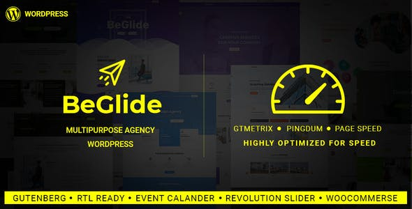BeGlide v1.0 - Corporate Business Consultant Agency