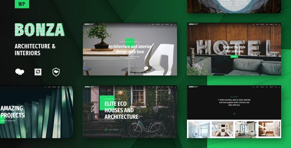 Bonza v1.1 - Architecture & Interior WordPress Theme