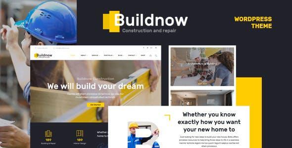 Buildnow v1.1 - Construction & Building WordPress Theme