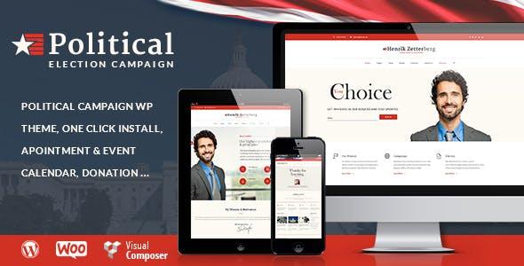 Candidate v1.8 - Political / Non-profit WordPress Theme