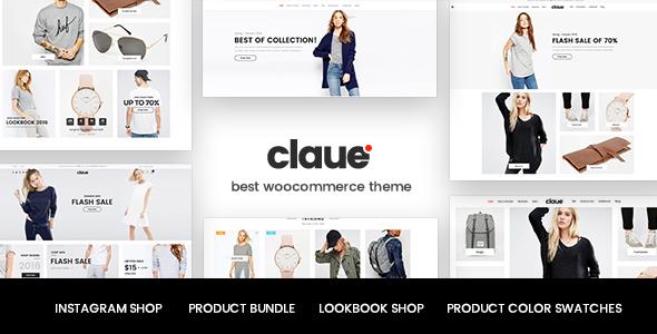 Claue v1.5.6 - Clean, Minimal WooCommerce Theme