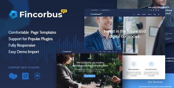 Fincorbus v1.0 - Finance Corporate WordPress Theme
