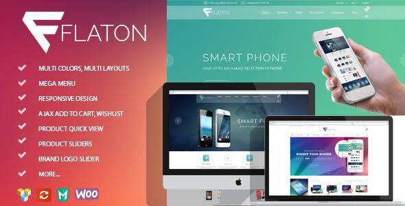 Flaton v1.6 - WooCommerce Responsive Digital Theme