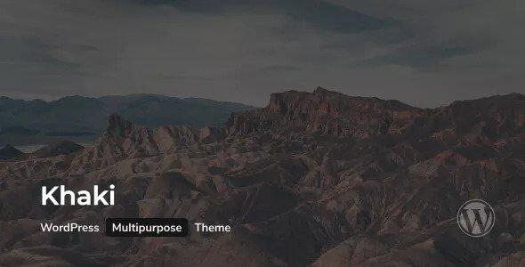 Khaki v2.0.2 - Responsive Multi-Purpose WordPress Theme
