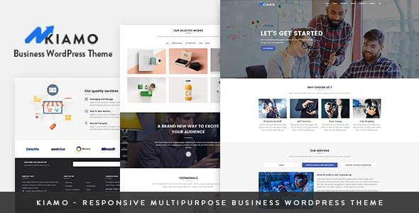 Kiamo v1.1.1 - Responsive Business Service WordPress Theme