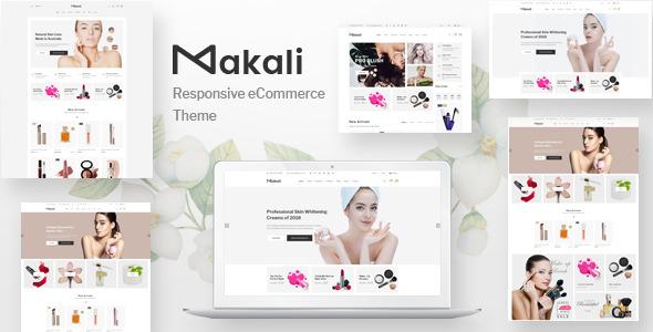 Makali v1.1.8 - Cosmetics & Beauty Theme for WooCommerce WordPress