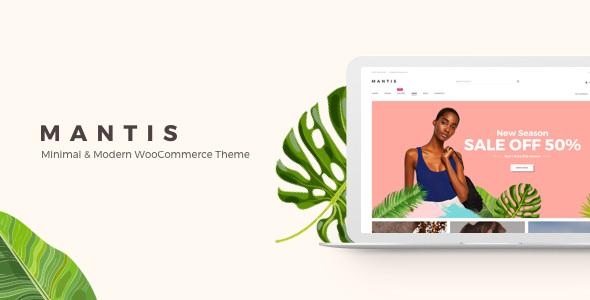 Mantis v1.1.1 - Minimal & Modern WooCommerce Theme