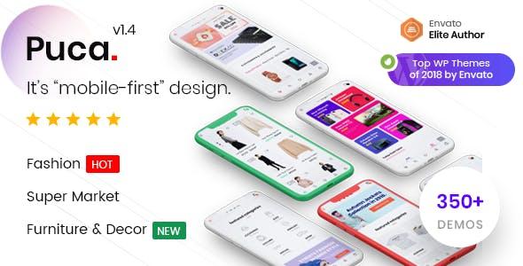 Puca v1.4.5 - Optimized Mobile WooCommerce Theme