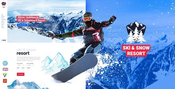 Snow Club v1.1 - Ski Resort and Snowboard Classes WordPress Theme