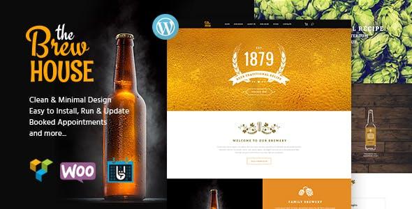 The Brew House v1.5 - Brewery / Pub / Restaurant WordPress Theme
