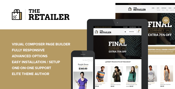 The Retailer v2.11 - Responsive WordPress Theme