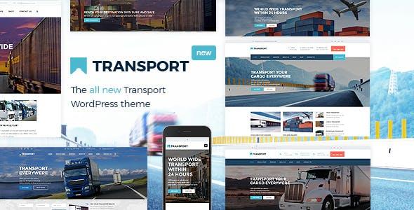 Transport v3.1.5 - WP Transportation & Logistic Theme