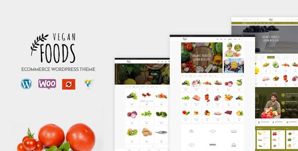 Vegan Food - Organic Store, Farm Responsive Theme