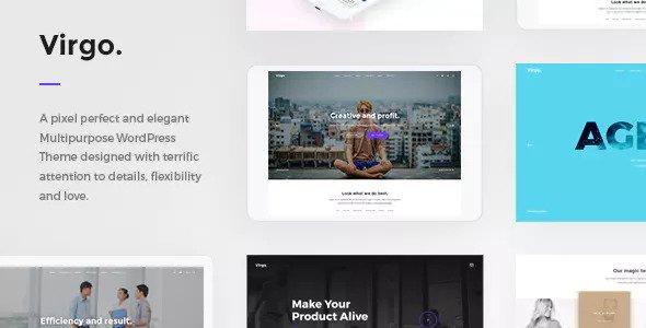 Virgo v1.1.1 - Multipurpose Multi-Concept WordPress Theme