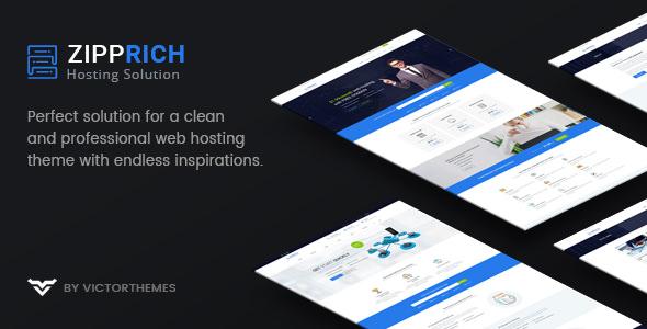 Zipprich v1.9 - Web Hosting & WHMCS WordPress Theme