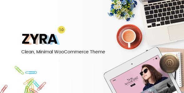 Zyra v1.1.2 – Clean, Minimal WooCommerce Theme
