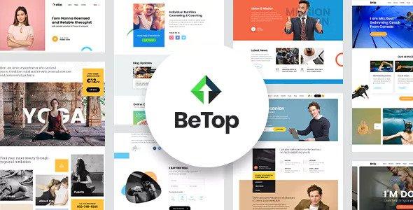 BeTop v1.0.3 - Coaching & Speaker WordPress Theme