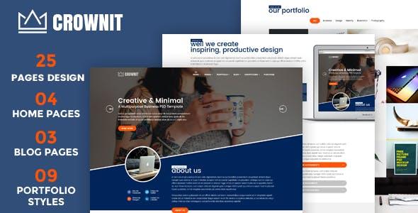 CrownIT v1.5 - Responsive Multi-Purpose WordPress Theme