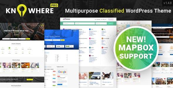 Knowhere Pro v1.4.8 - Multipurpose Directory Theme