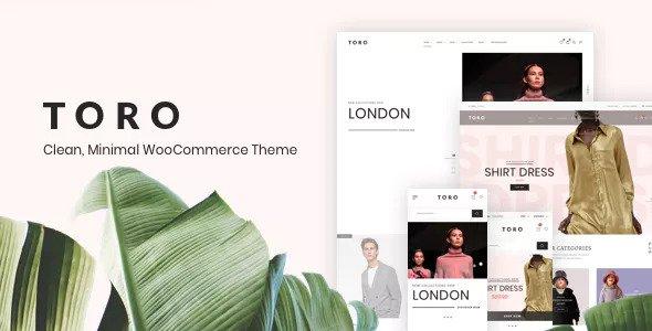 Toro v1.0.4 - Clean, Minimal WooCommerce Theme