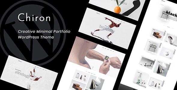 Chiron v1.0 - Creative Minimal Portfolio WordPress Theme