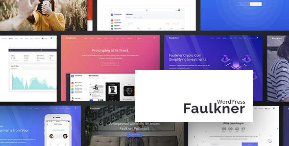 Faulkner v1.1.12 - Responsive Multiuse WordPress Theme