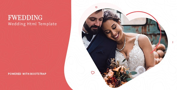 Foxewedding v1.0 - Beautiful Wedding Template