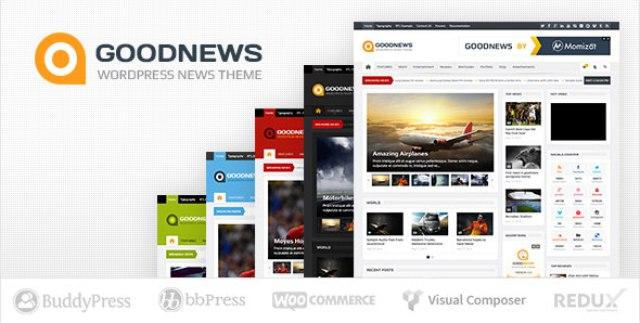 Goodnews v5.9.6 - Responsive WordPress News/Magazine