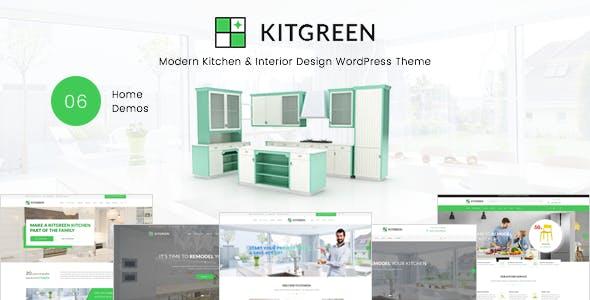 KitGreen v1.2.1 - Modern Kitchen & Interior Design